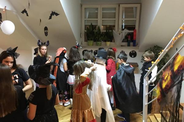 Halloween PArty Djeca Srednjoskolci Zagreb