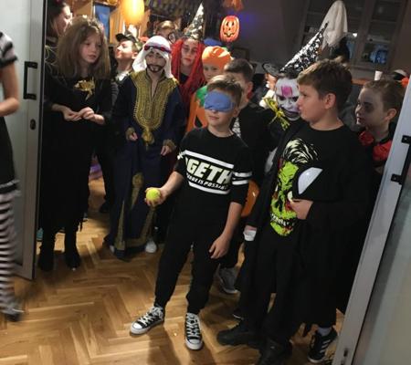 Halloween Zabava Djeca Zagreb