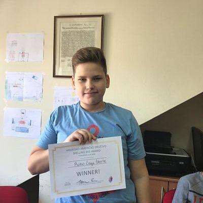 Spelling Bee Pobijednik