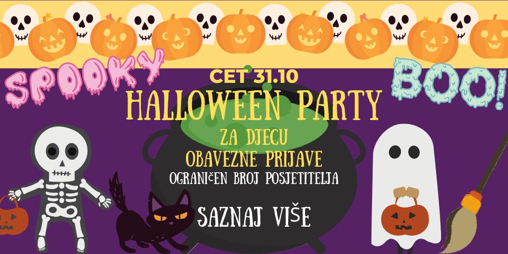 Halloween Zabava za djecu 2019