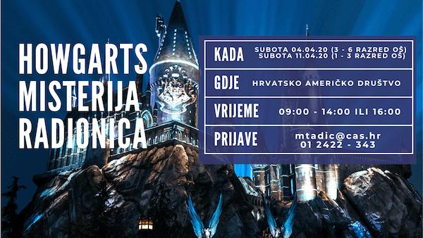 Harry Potter Radionica Za Djecu Zagreb Travanj 2020 besplatno zabavno tulum rođendan zabava slavlje
